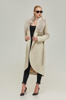 Женское пальто с мехом - тепло и изящность!