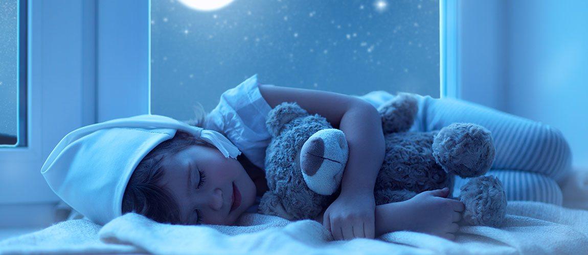От чего зависит спокойный сон ребенка?