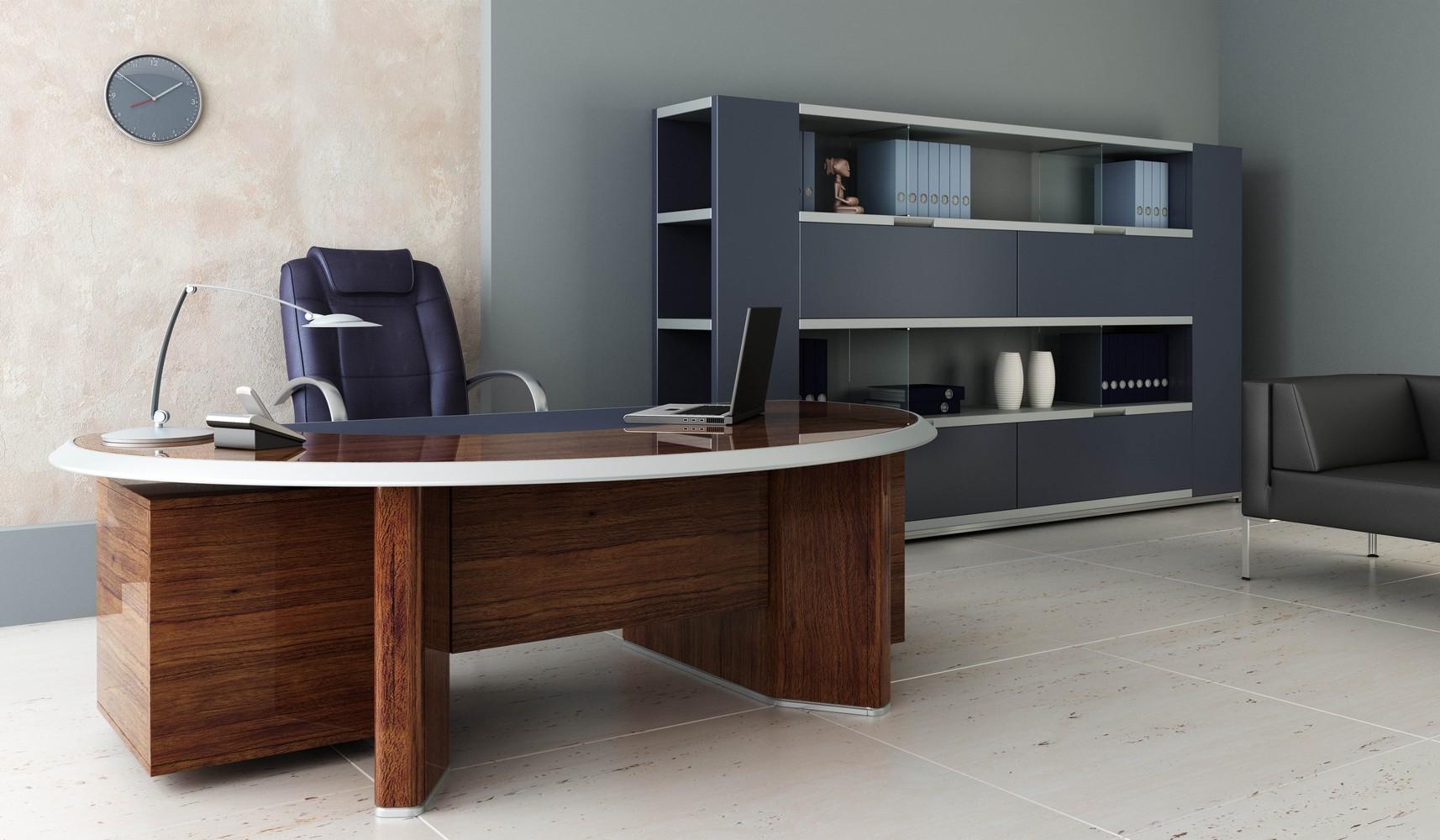 Современная стильная мебель для офиса - правила выбора