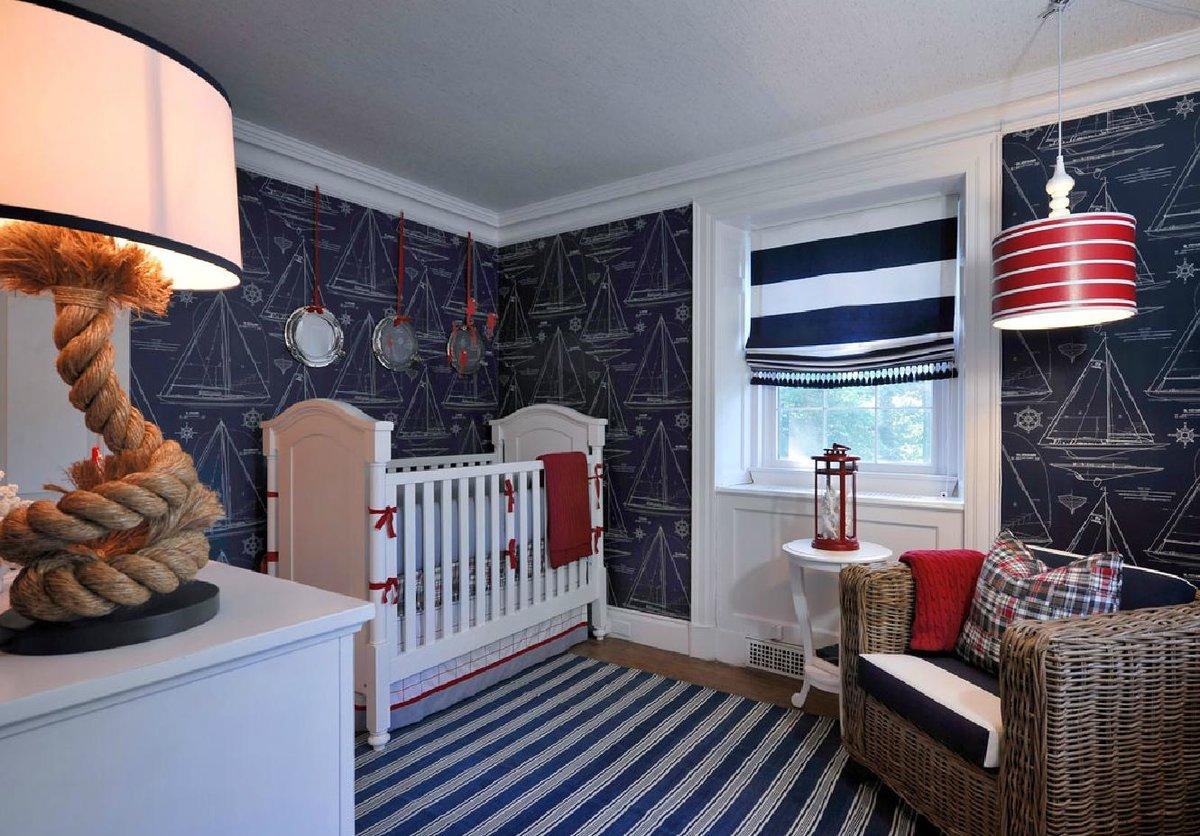 Использование морского стиля при планировании интерьера жилища
