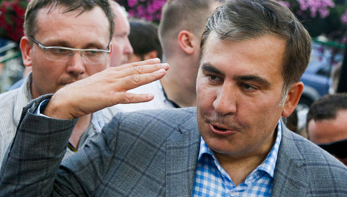 Саакашвили рассказал об изменениях в Киеве за время его отсутствия