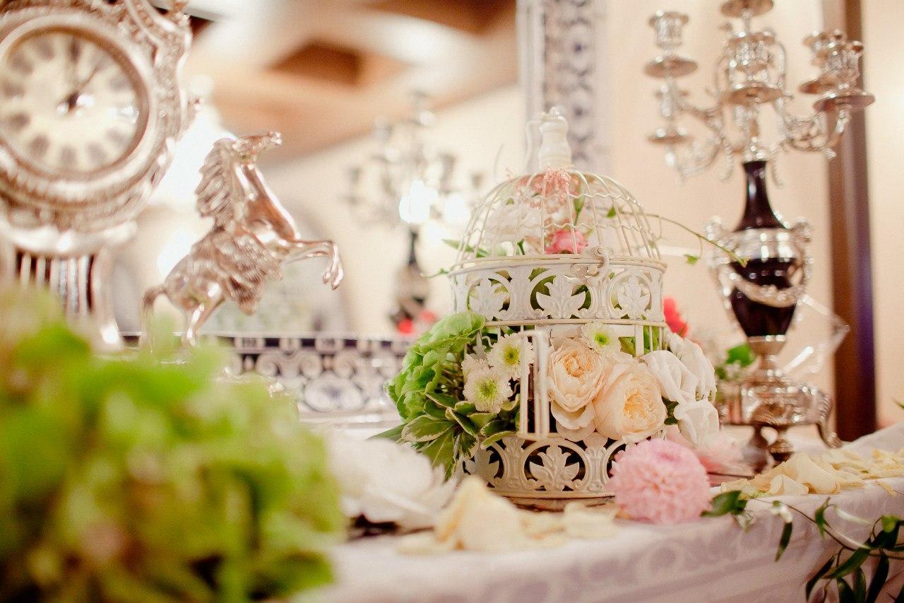 Свадьба в стиле «шебби-шик»
