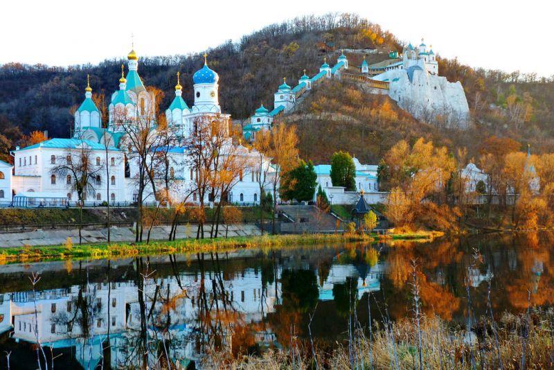 Свято-Успенская Святогорская Лавра в Украине