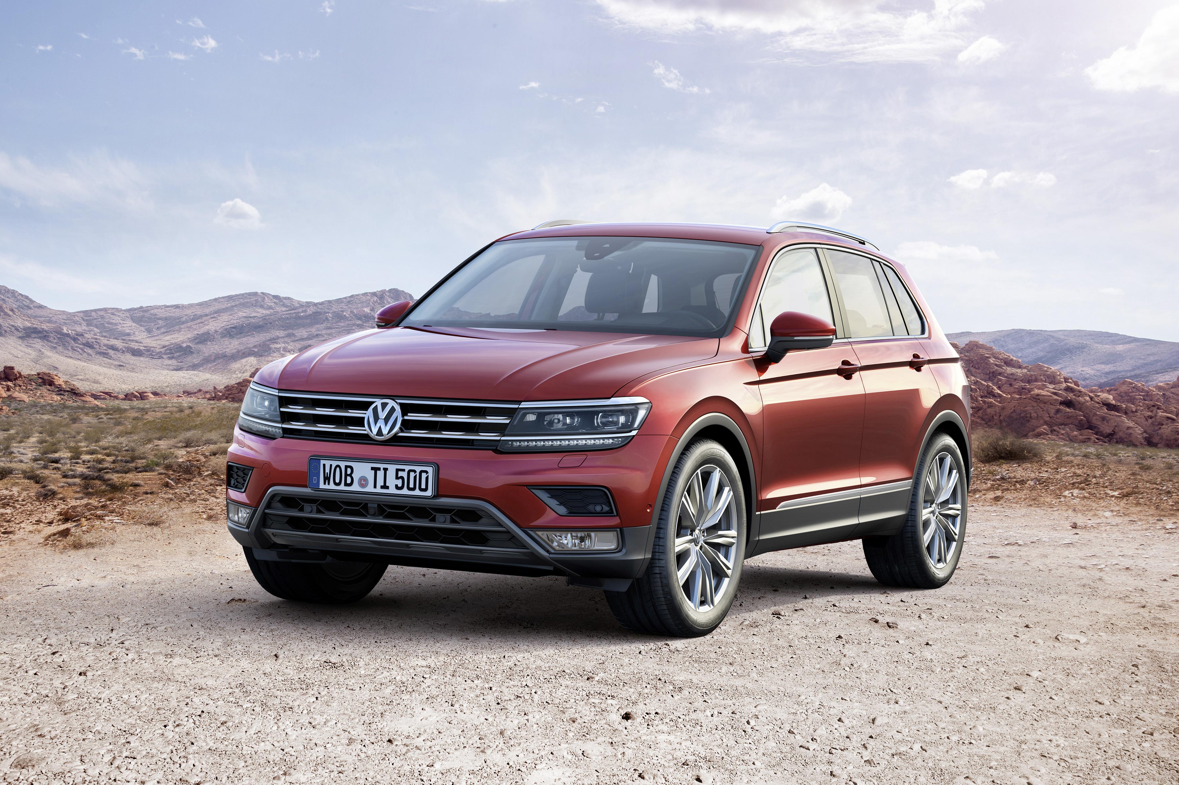 В Volkswagen обновили кроссовер Tiguan