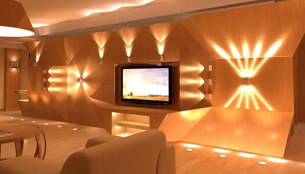 Как распределить источники света в доме