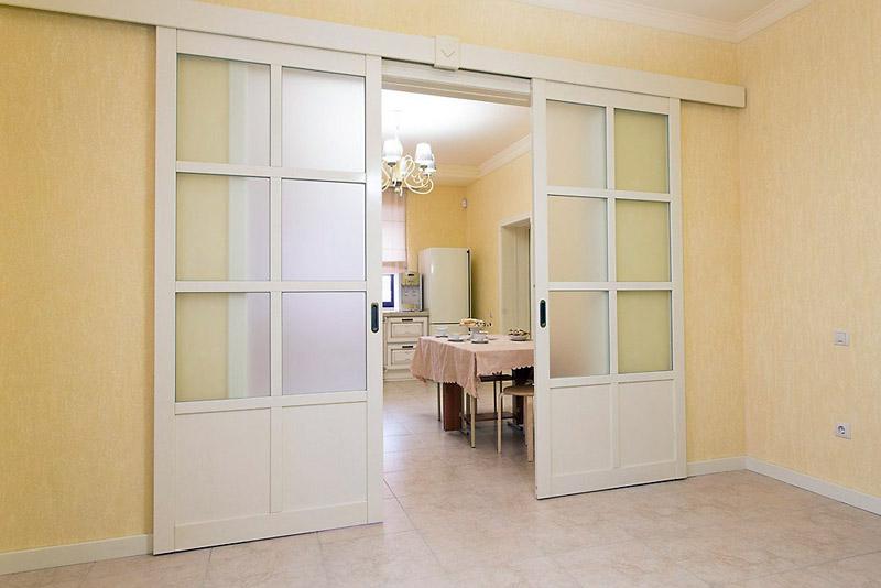Раздвижные двери: сфера применения и особенности конструкции