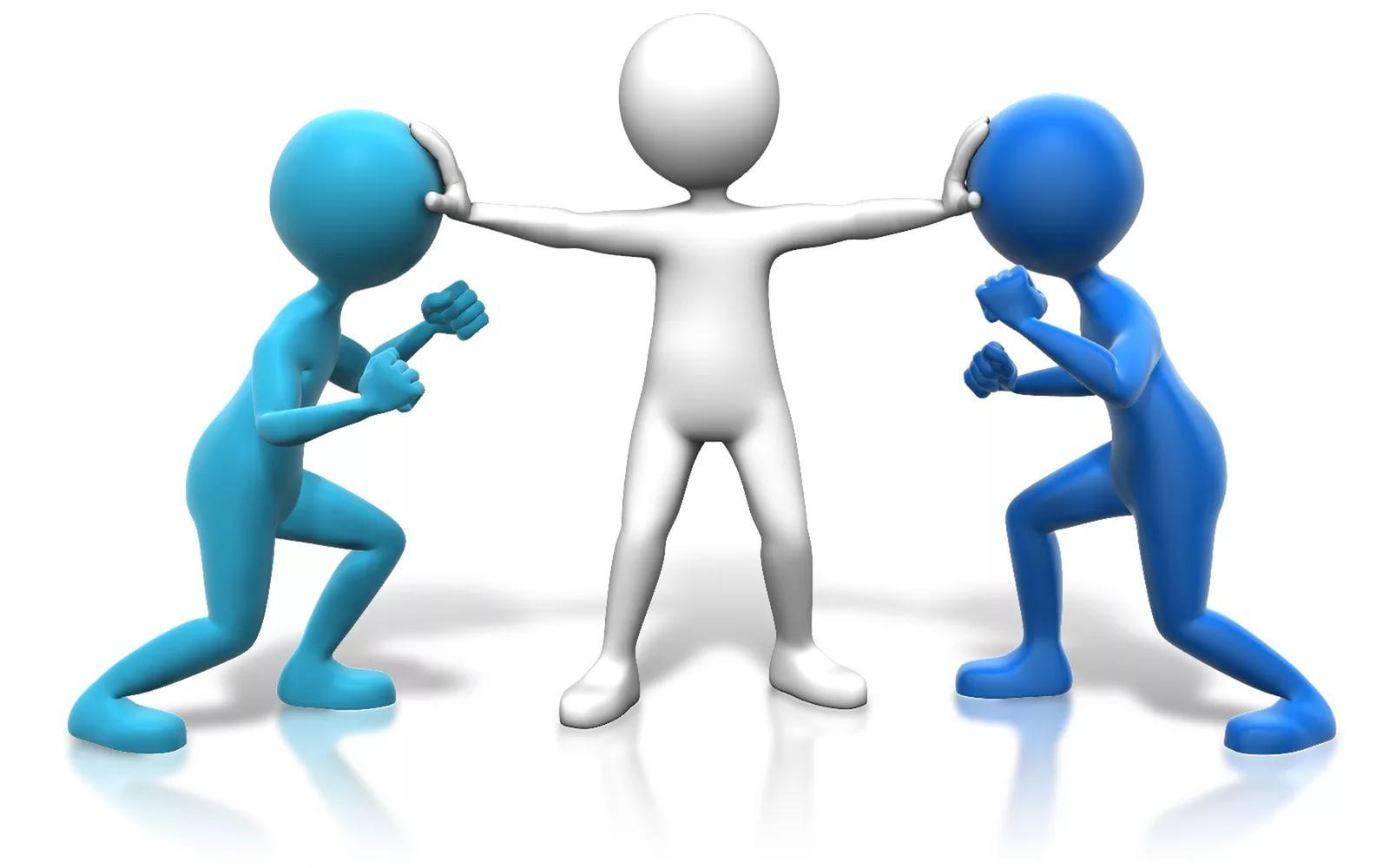 Способы воздействия на противника в конфликте