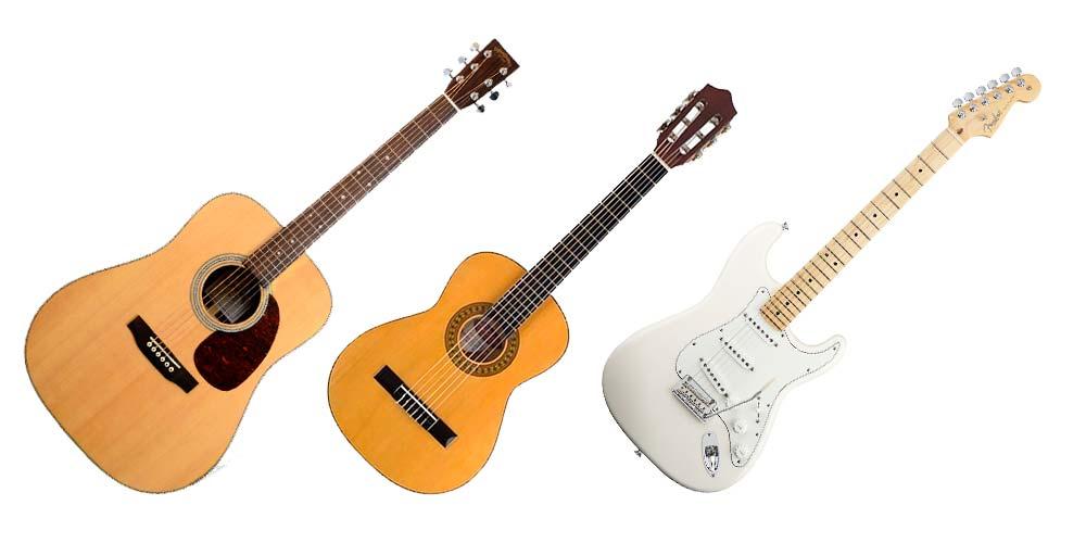 Выбор гитары для начинающих. Какую выбрать?