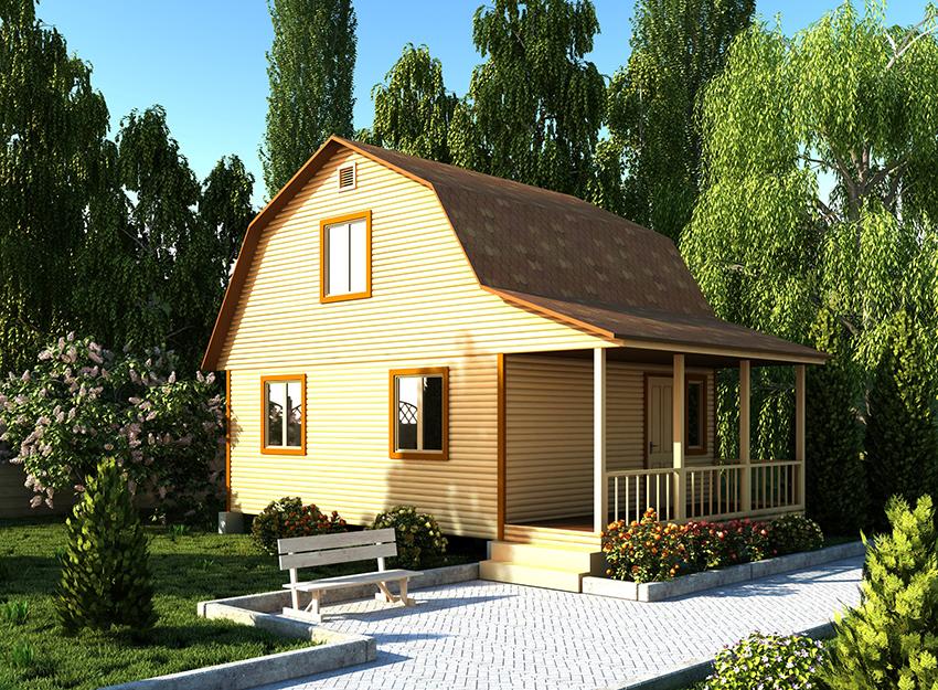 Каркасно-щитовые дома подарят уют и комфорт