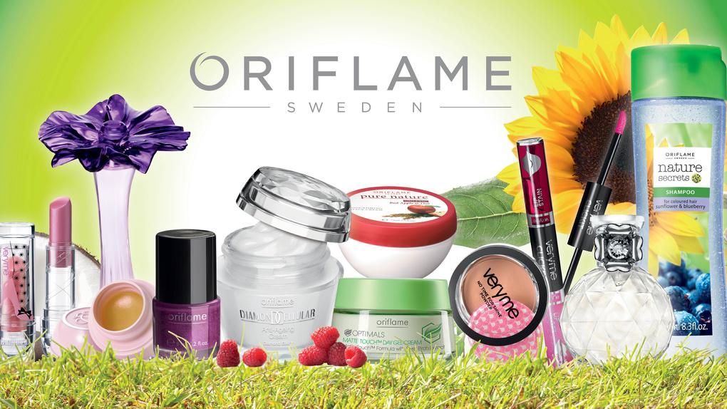 Орифлейм — макияж для лица, ароматы для тела