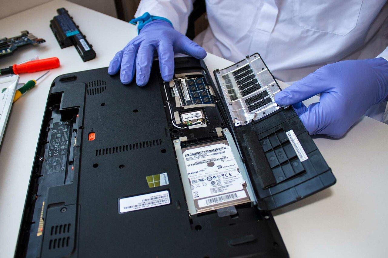Как выполняется ремонт ноутбуков