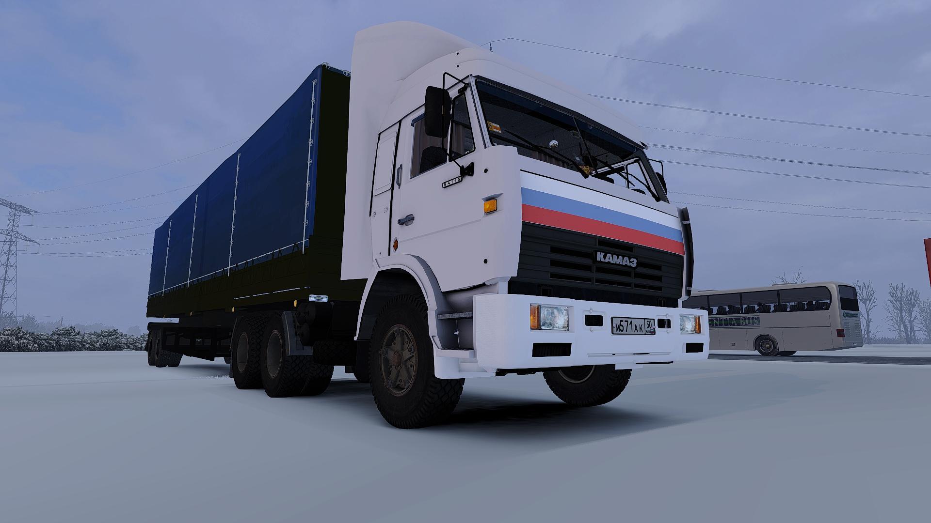 Обзор на автомобиль КамАЗ-54115