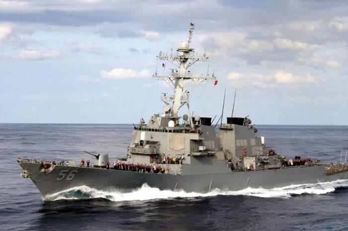 Министерство обороны РФ сообщило о вторжении американского эсминца